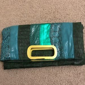 Aldo Emerald Green Clutch